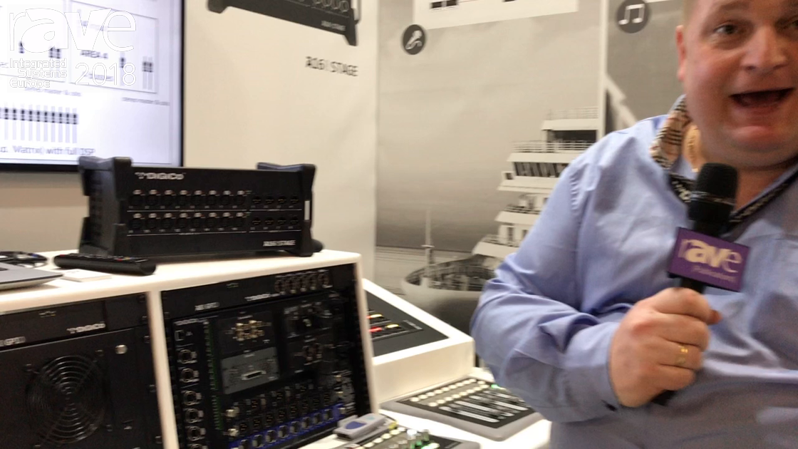 ISE 2018: DiGiCo Introduces Area4 Matrix System with Dedicated Controllers for Audio Performance