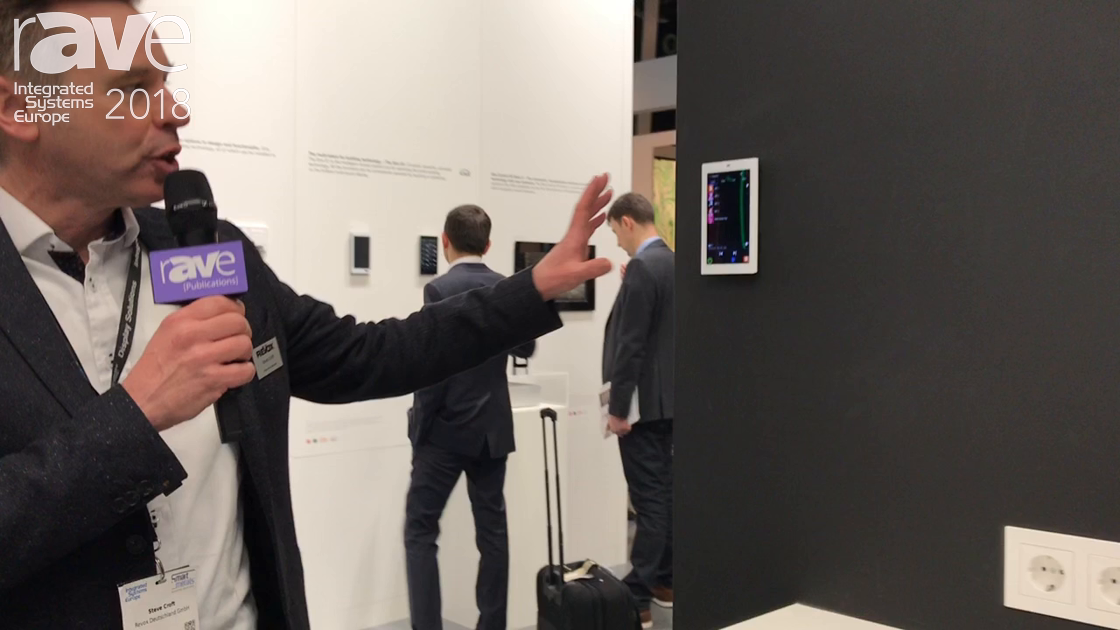 ISE 2018: Revox Showcases In-Wall Touch Screen Control Display for In-Home Music Systems