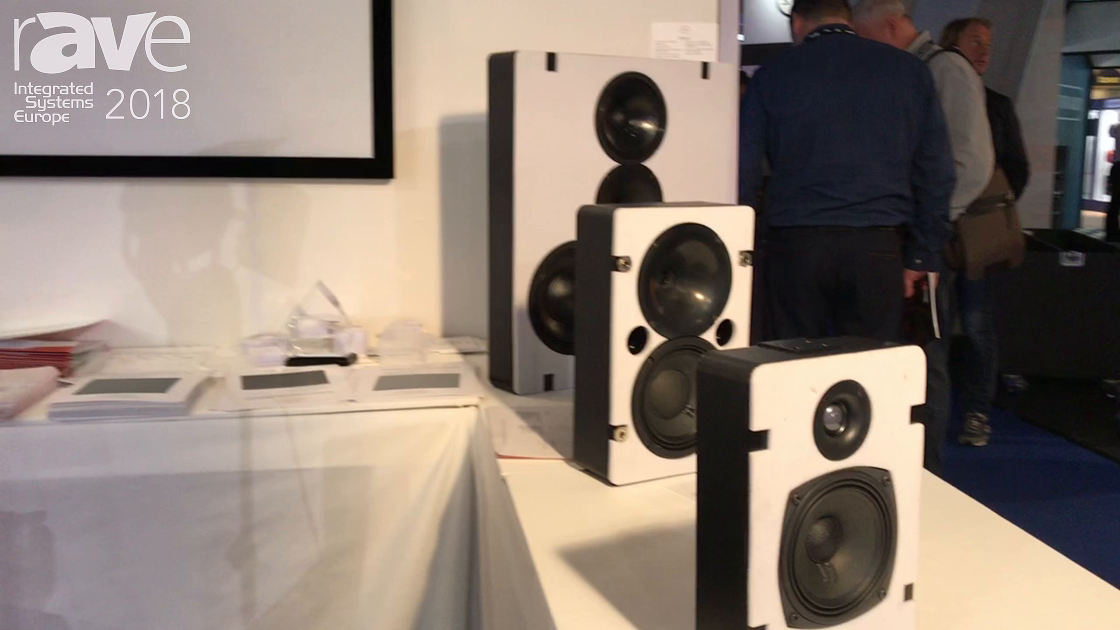 ISE 2018: Screen Excellence Promotes Audio Excellence Vertex Series Loudspeakers