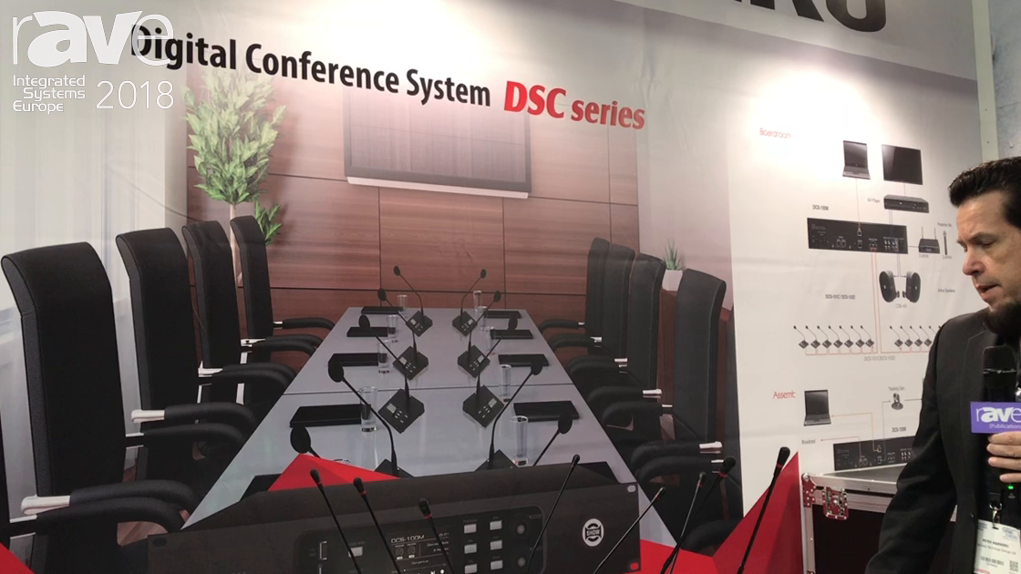 ISE 2018: Seikaku Introduces DSC Series Digital Conference System