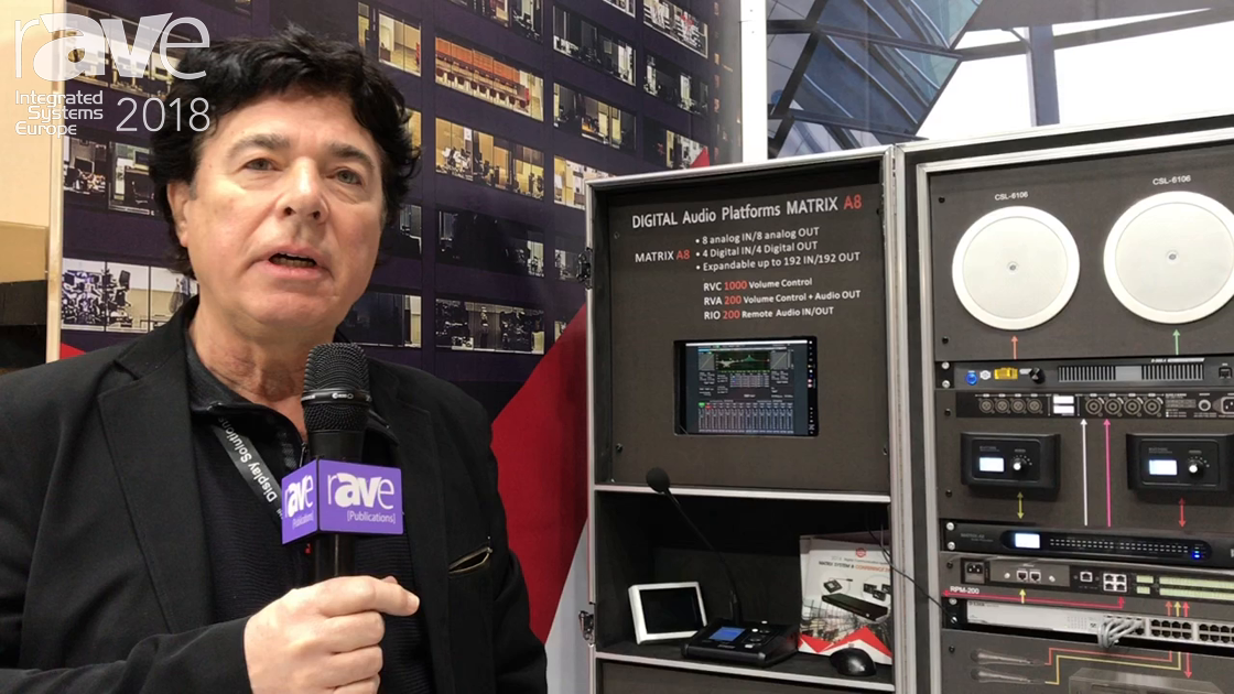 ISE 2018: Seikaku Promotes Matrix A8 Digital Audio Platform