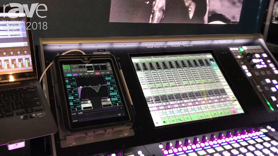 ISE 2018: Solid State Logic Demos V4.5 Software for SSL Live Consoles