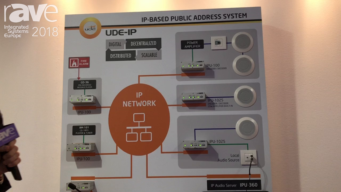 ISE 2018: UDE Introduces IP-Based Public Address System