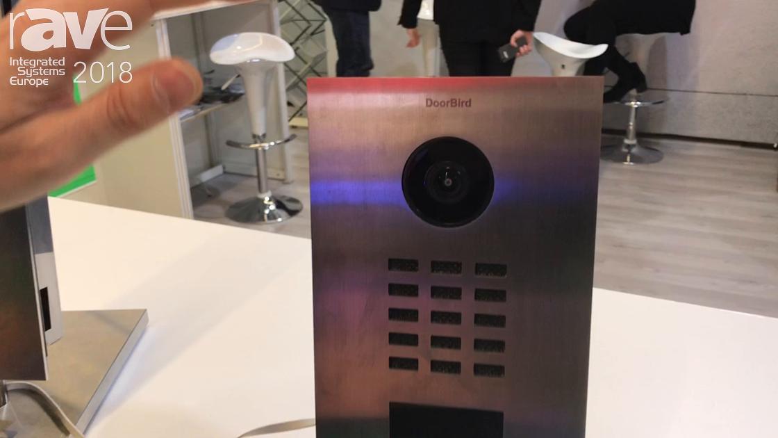 ISE 2018: DoorBird Highlights Its Video Doorbell With Smart Phone Push Notifications