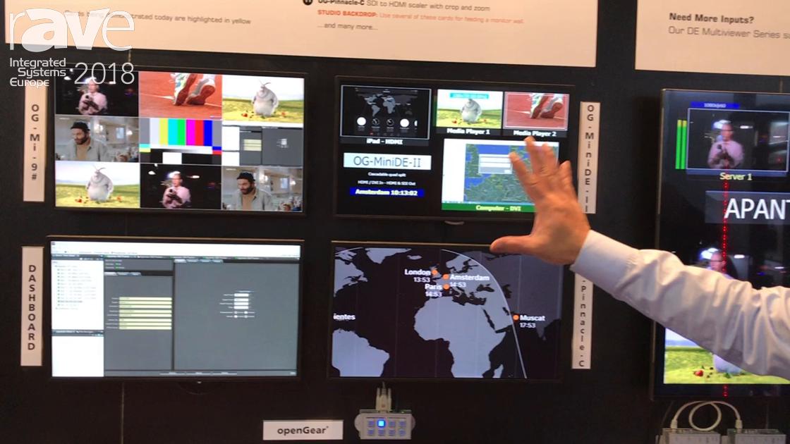 ISE 2018: Apantac Discusses openGear Broadcast Platform With OG-MiniDE-II