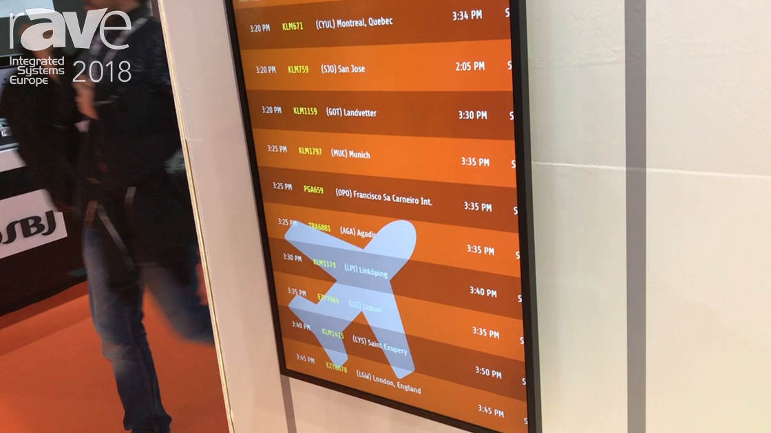 ISE 2018: OnSign TV Features Digital Signage Solutions For Public Transportation Segment