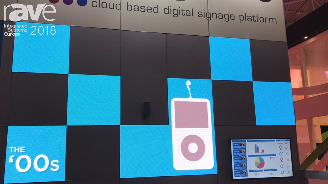 ISE 2018: Signagelive Demos Meeting Room Solution and Cloud Based Digital Signage Platform And