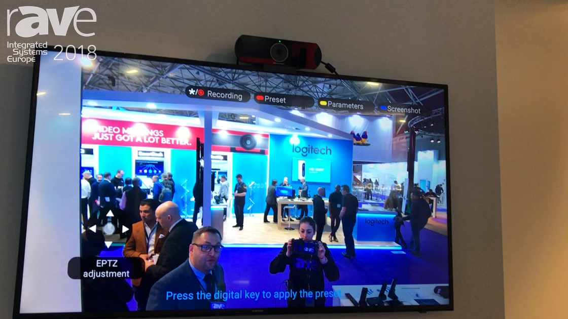 ISE 2018: Grandstream Networks Features Video Conference Endpoint Device