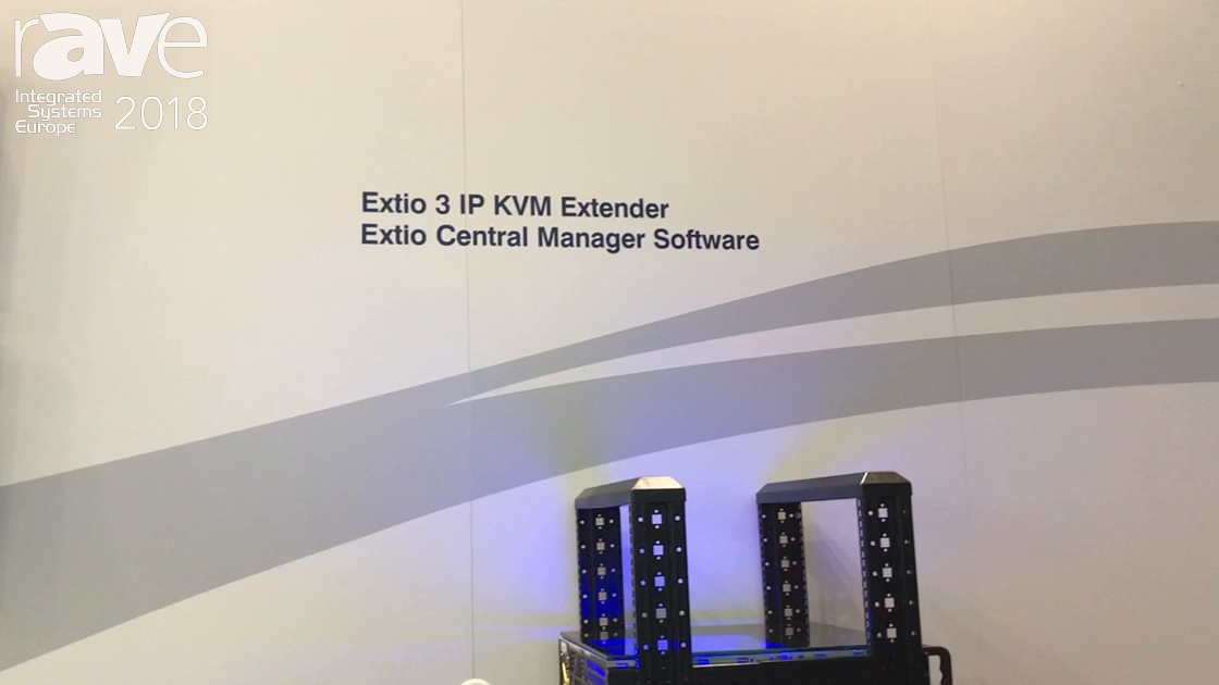 ISE 2018: Matrox Exhibits Fast Switching Exito 3 IP KVM Extender With Very Low Latency