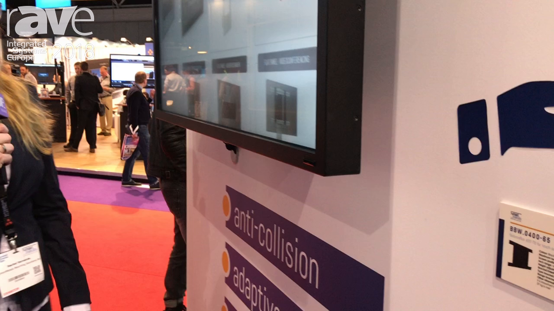 ISE 2018: SmartMetals Debuts BalanceBox Touch Screen Mount With Soft-Stop Mechanism