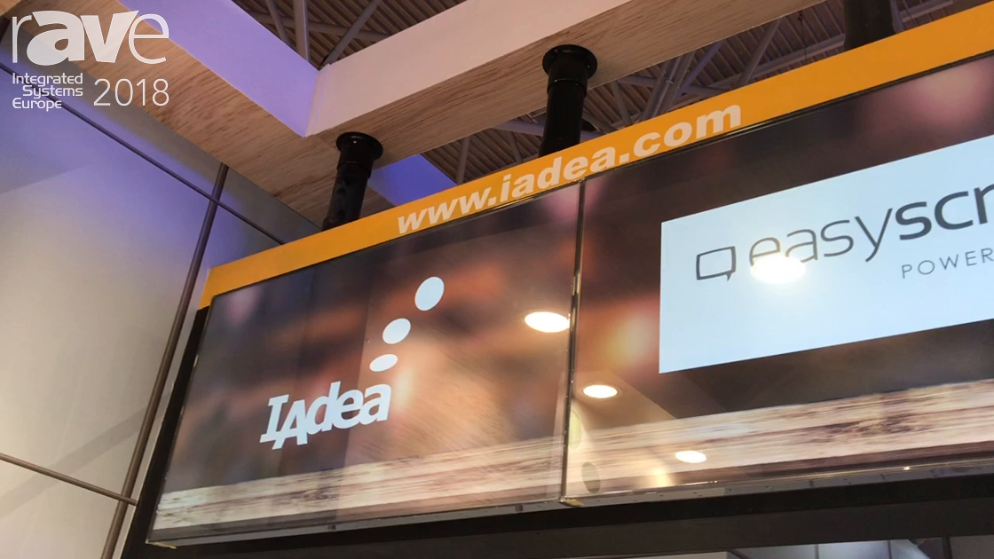 ISE 2018: IAdea Corporation Explains AnyTiles For Building Tiled LCD Video Walls