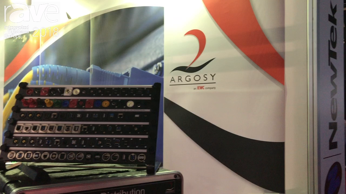 ISE 2018: Argosy Cable Exhibits Mains Distribution Unit
