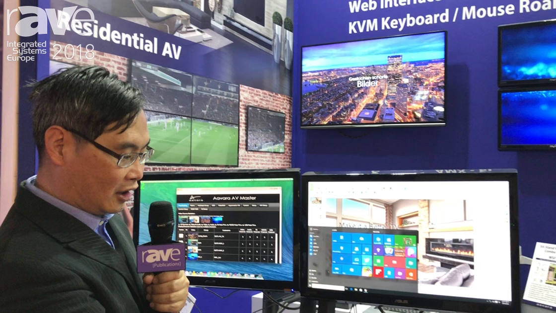 ISE 2018: Aavara Talks About 4K Over IP Solutions
