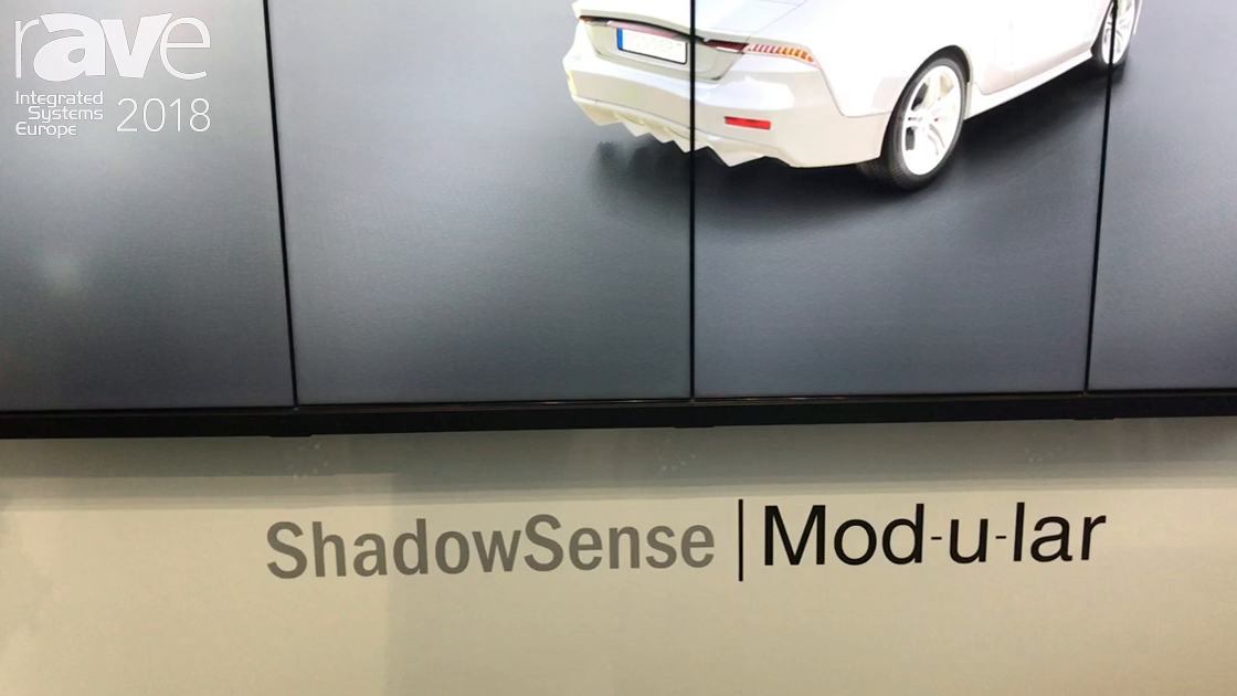 ISE 2018: Baanto Discusses ShadowSense Mod-u-lar Frame for Video Wall Solutions