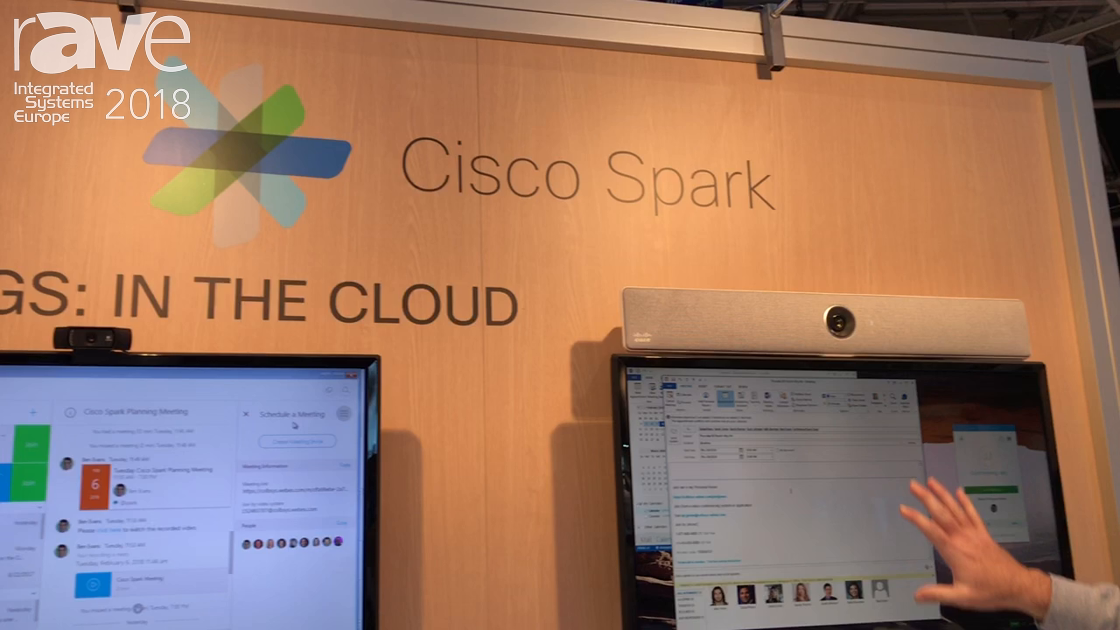 ISE 2018: Cisco Demonstrates Cisco Spark Cloud Meeting Services