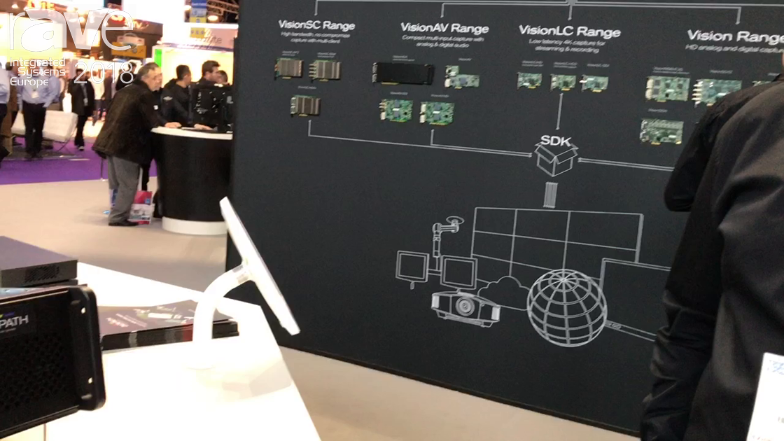 ISE 2018: Datapath Exhibits VSN Series Video Wall Controller Running Windows 10