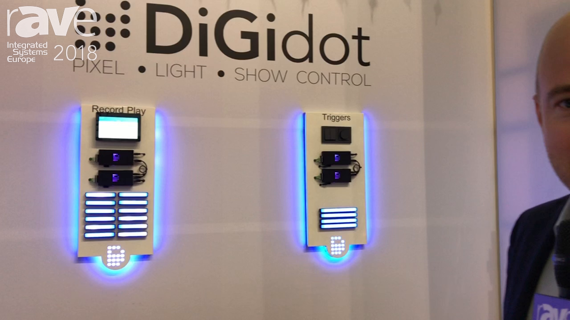 ISE 2018: DiGiDot Highlights Control System for Lighting System With Art-Net Input