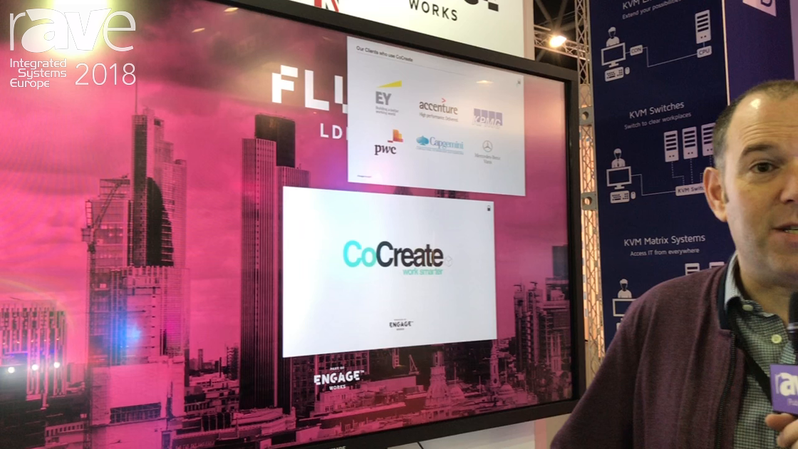 ISE 2018: Engage Works Exhibits CoCreate Collaborative Work and Creative Presentation Software
