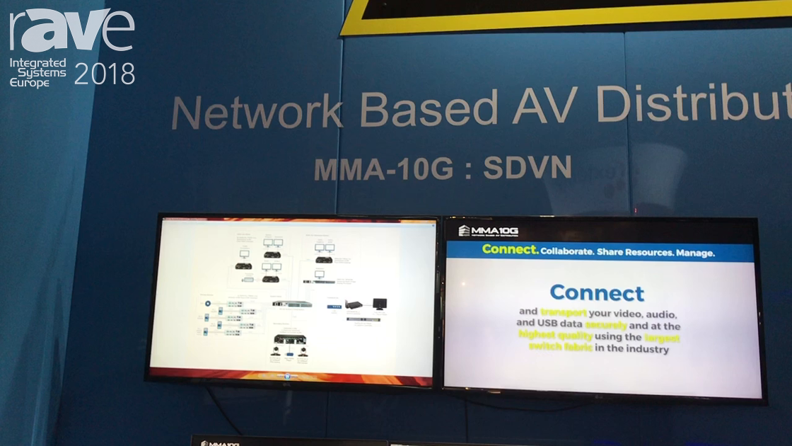 ISE 2018: Evertz AV Showcases MMA-10G Series Network-Based AV Distribution