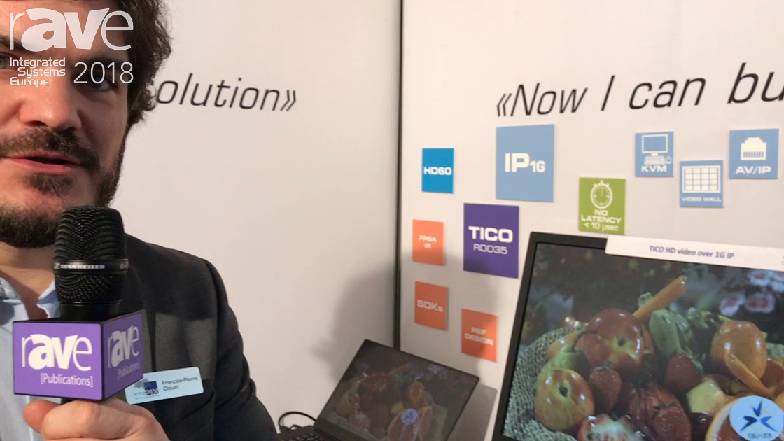 ISE 2018: intoPIX Features TICO for Sending HD Video Over 1Gig Networks