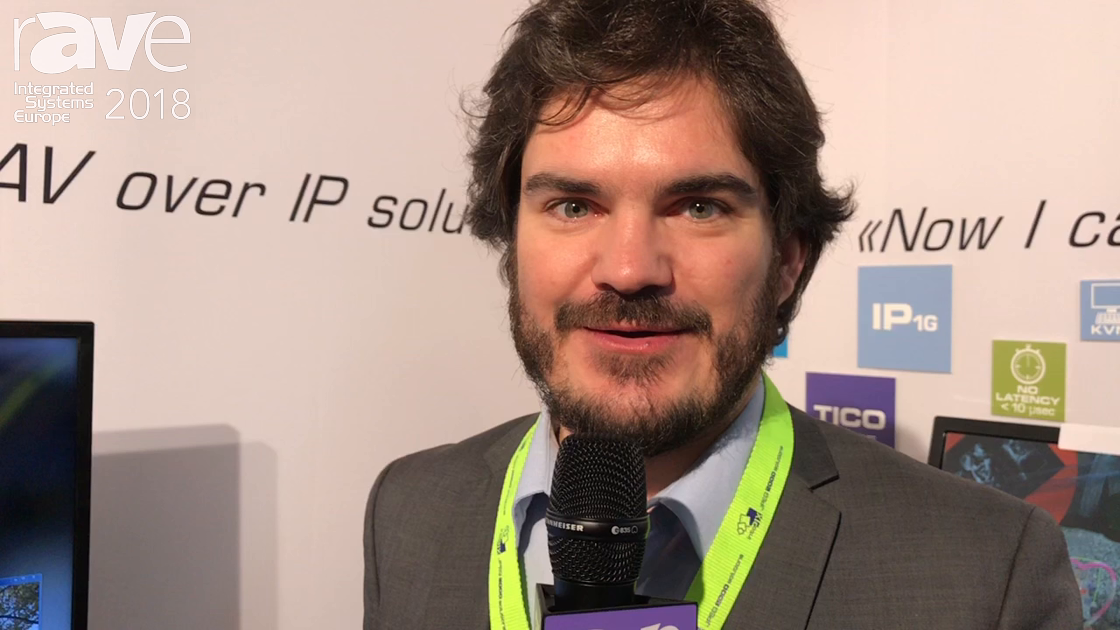 ISE 2018: Intopix Talks About ULL JPEG2000 4K60 Over 1Gig Networks