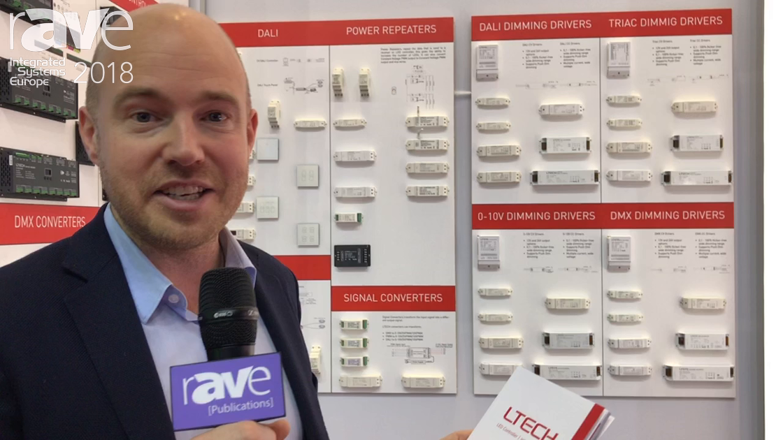 ISE 2018: LTech Discusses Dimming Driver Solutions for LED Lighting