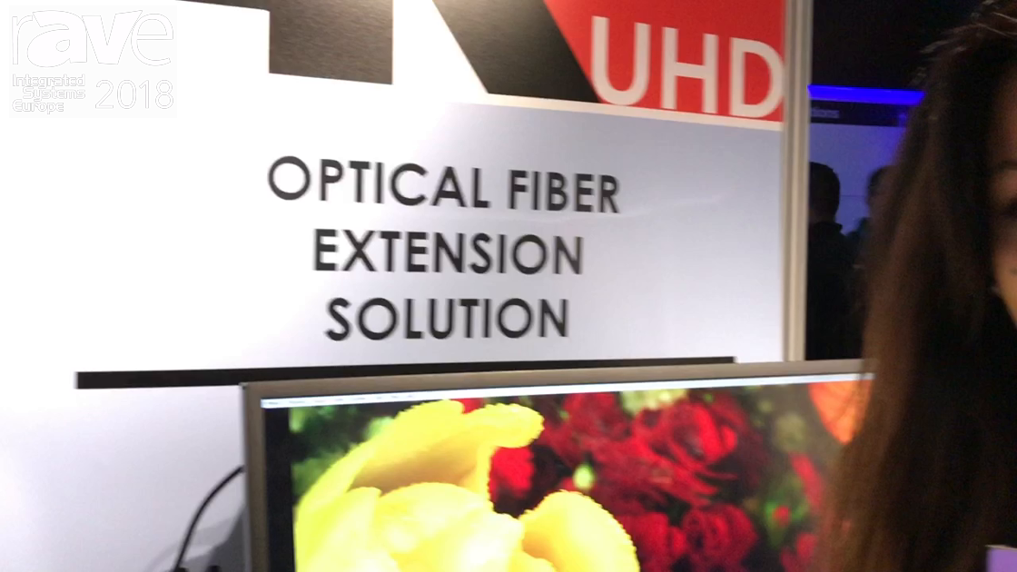 ISE 2018: Ophit Discusses FTSS SDI Optical Fiber Extender