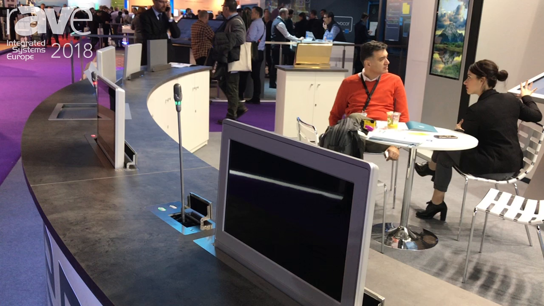 ISE 2018: Soltec Introduces Integrated Monitor Solutions for Conference Room Applications