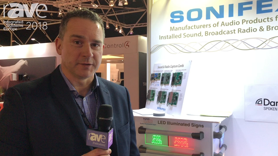 ISE 2018: Sonifex Discusses AVN-TB6 6 Button Talkback Intercom & Presenter In-Ear Monitoring System