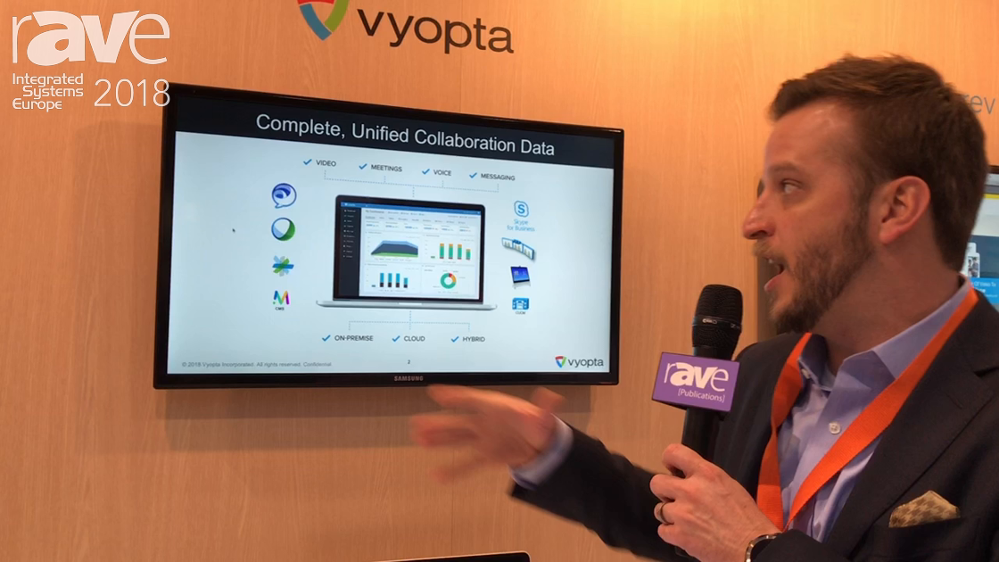 ISE 2018: Vyopta Showcases Monitoring and Analytics Products on the Cisco Stand