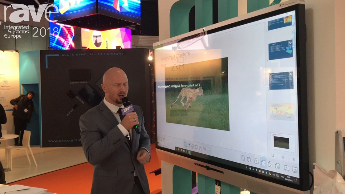 ISE 2018: Genee World Features X-Series Interactive Display and G-touch Table For Education Market