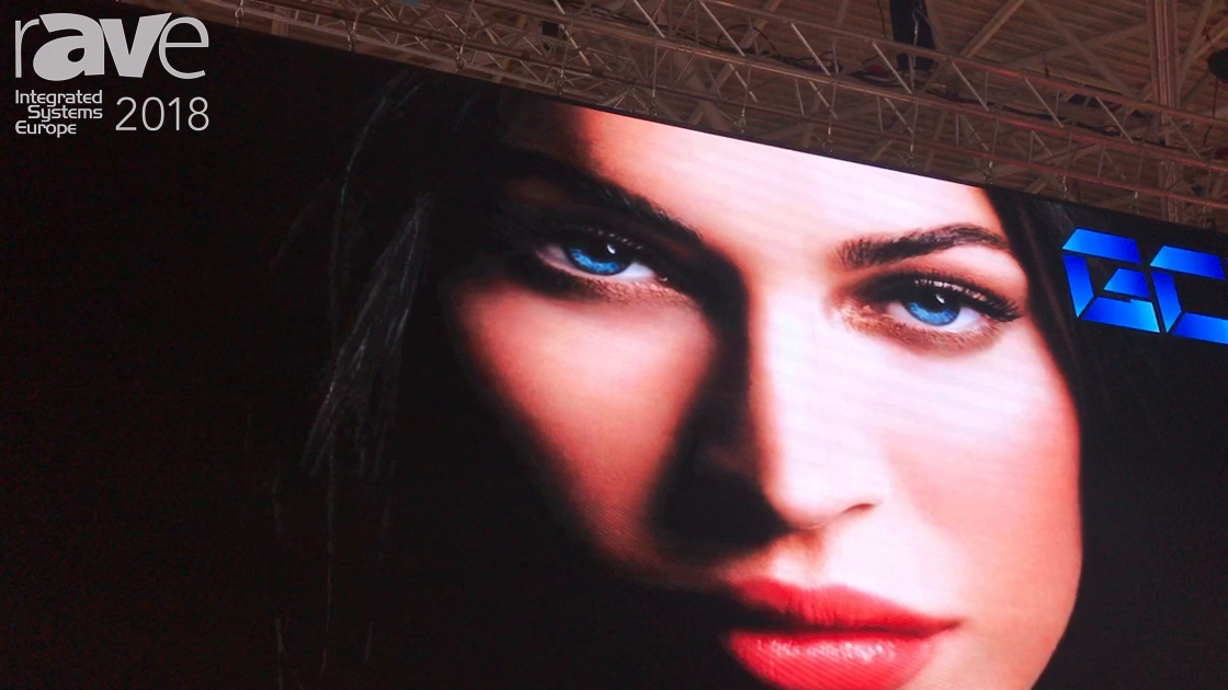 ISE 2018: Shenzhen GCL Electronics Shows Off Indoor LED Screen