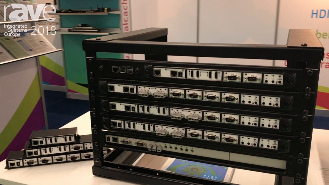 ISE 2018: Global Caché Presents Global Connect UHD 4K Switching Module