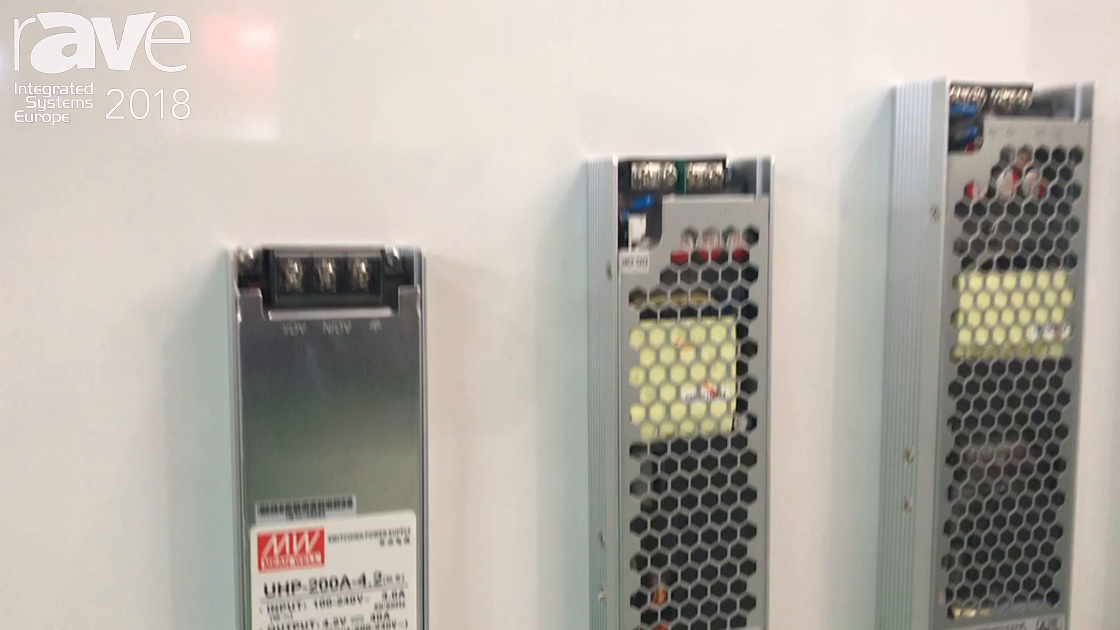 ISE 2018: MEAN WELL Launches UHP Series of 200-Watt to 500-Watt Power Supplies For LED Signage