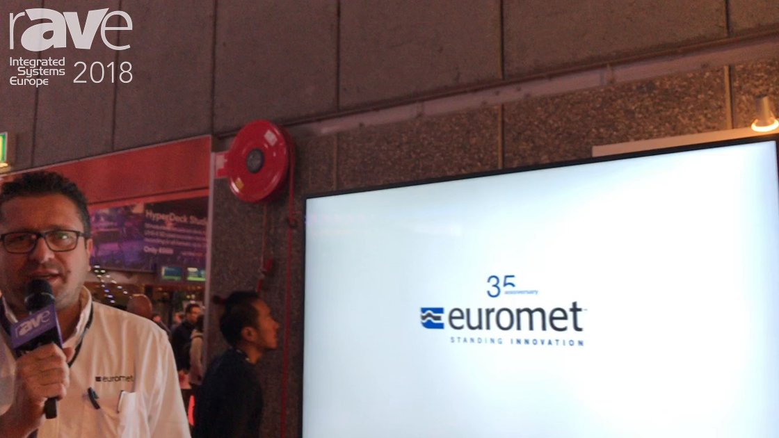 ISE 2018: Euromet Debuts CHIC Mounting System for Displays