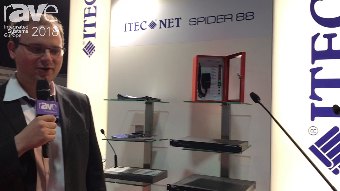 ISE 2018: Itec Audio Presents Itec Net Lectern Presence with Active DSP Integration