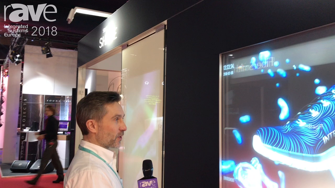 ISE 2018: Seloy Live Features Interactive Shopping Window for Retail Solutions