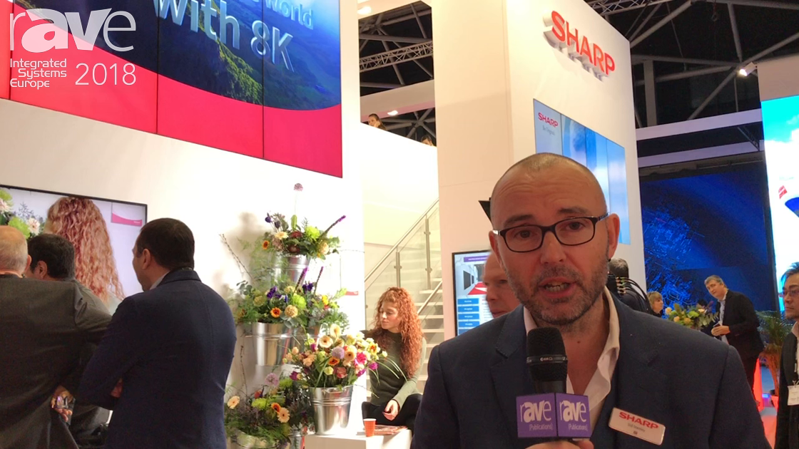 ISE 2018: Sharp Debuts 8K Ecosystem With 8K Camera and 8K Displays