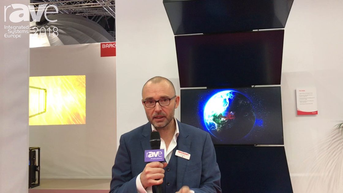 ISE 2018: Sharp Highlights PN Professional Displays Range