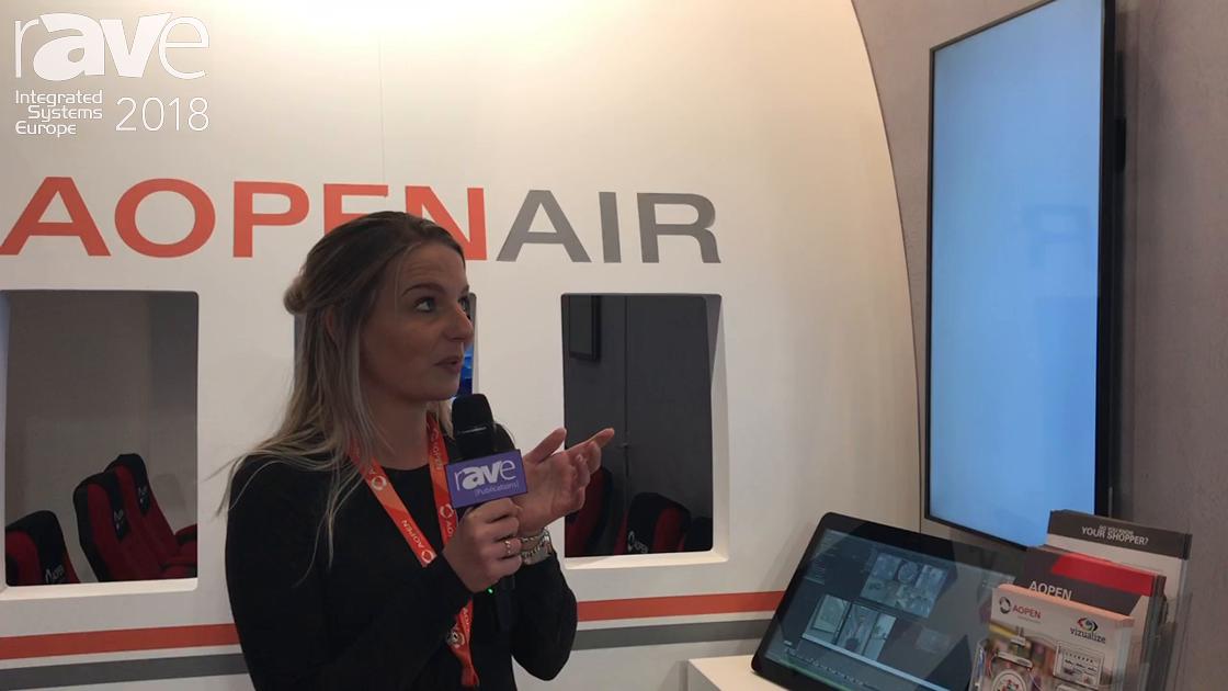 ISE 2018: AOpen Launches Video Analytics Platform