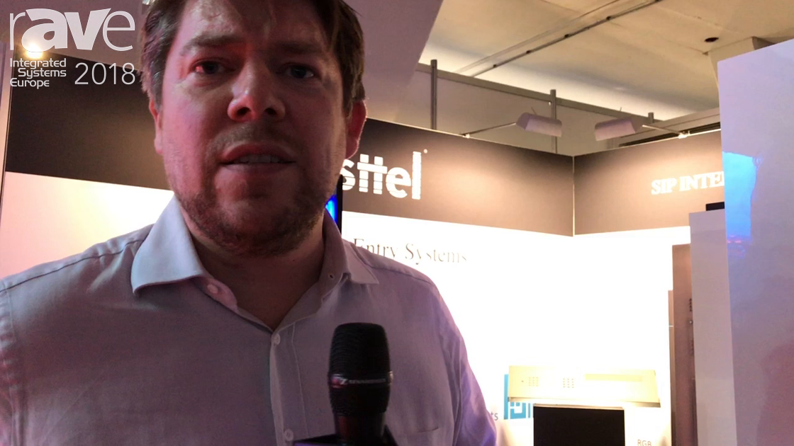ISE 2018: Fasttel Introduces Door Intercom with Keypad and Finger Reader