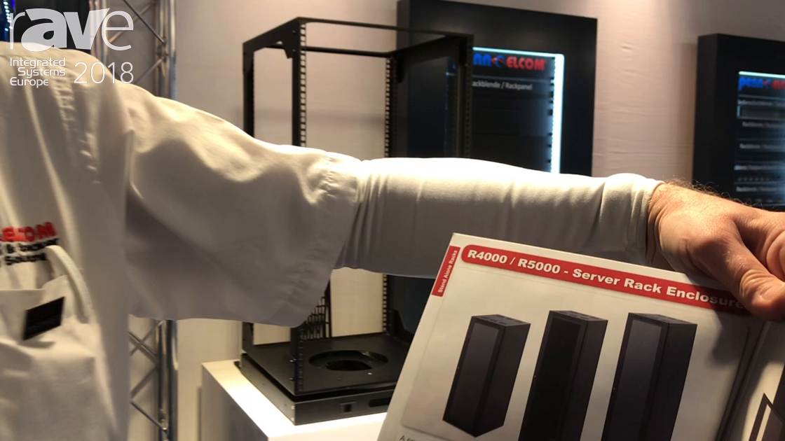 ISE 2018: Penn Elcom Talks About R64000/R65000 Series Server Rack Enclosures