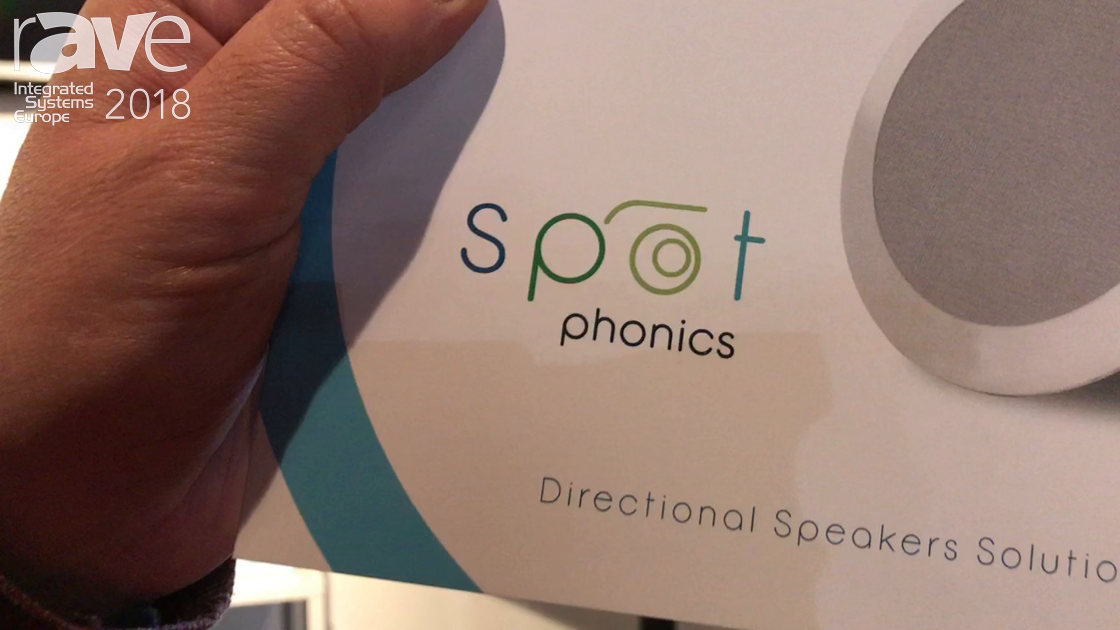 ISE 2018: RSF Introduces Spot Phonics Directional Speakers Solutions Line
