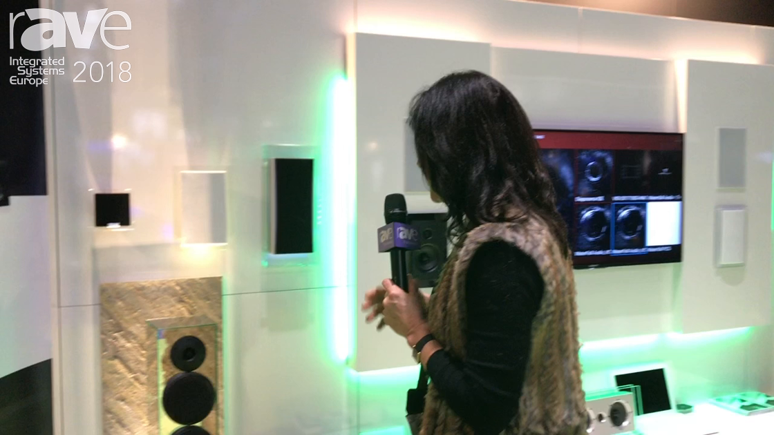 ISE 2018: Waterfall Audio Features Victoria Evo Glass Speakers