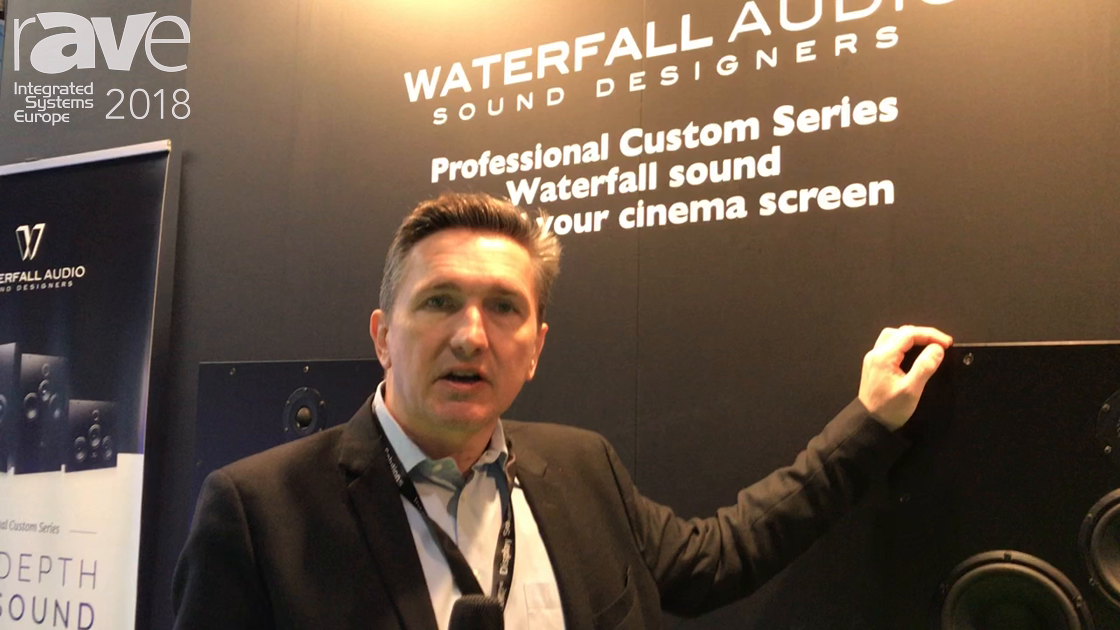 ISE 2018: Waterfall Audio Showcases Pro Custom Series of In Wall Speakers