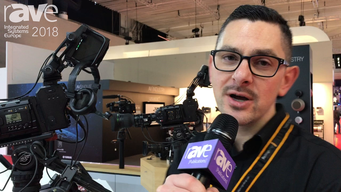 ISE 2018: Blackmagic Design Exhibits URSA Broadcast Camera for Live Event Production