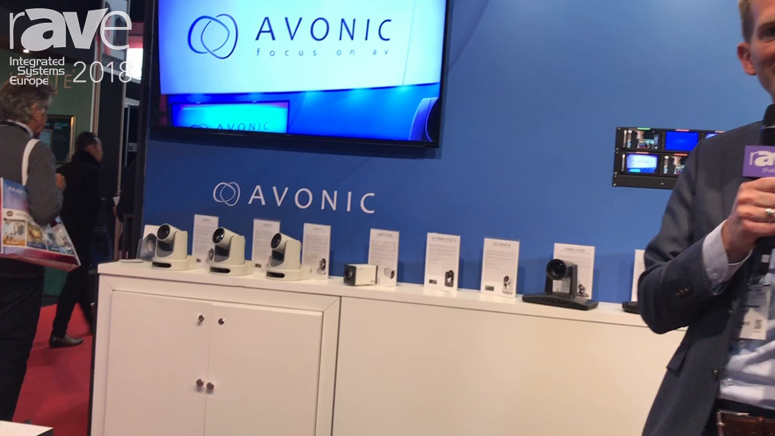 ISE 2018: Avonic Features AV-CM40-B Commerical Installation PTZ Camera Solution