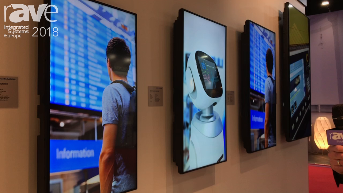 ISE 2018: Data Modul Introduces Entry Level Line Up of Displays for Digital Signage