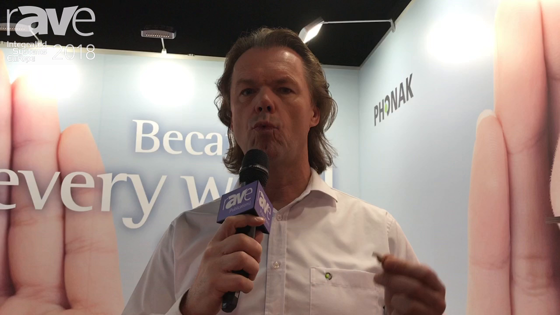 ISE 2018: Phonak Communications Features Roger Earpiece In-Ear Communication Product