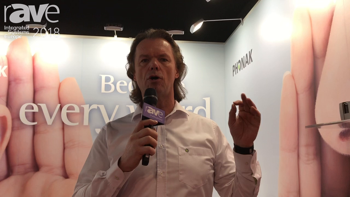ISE 2018: Phonak Communications Adds Roger MyLink With Personal Inductive Loop for Hearing Aid Users